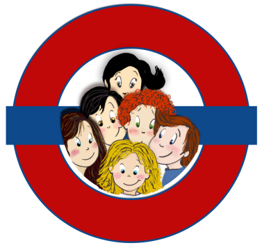 Hello! Nous sommes les mascottes du Young Learners Club! Victoria, liberty, John, Wendy, Harry et James! Rejoins-nous et Mind the Gap!